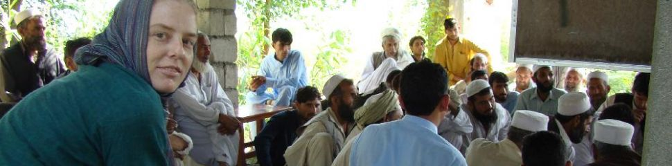 Coaching mobilizers at a participatory project planning meeting in Afghanistan